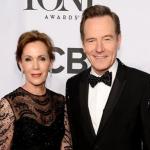 Bryan Cranston with his wife Robin Dearden