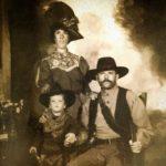 Chris Sullivan with his parents