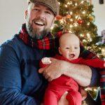 Chris Sullivan with his son Bear Maxwell Sullivan