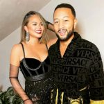 Chrissy Teigen with husband John Legend