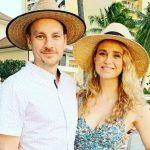 Fiona Gubelmann with husband Alex Weed