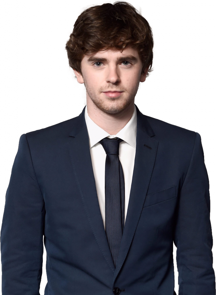 Freddie Highmore transparent background png image