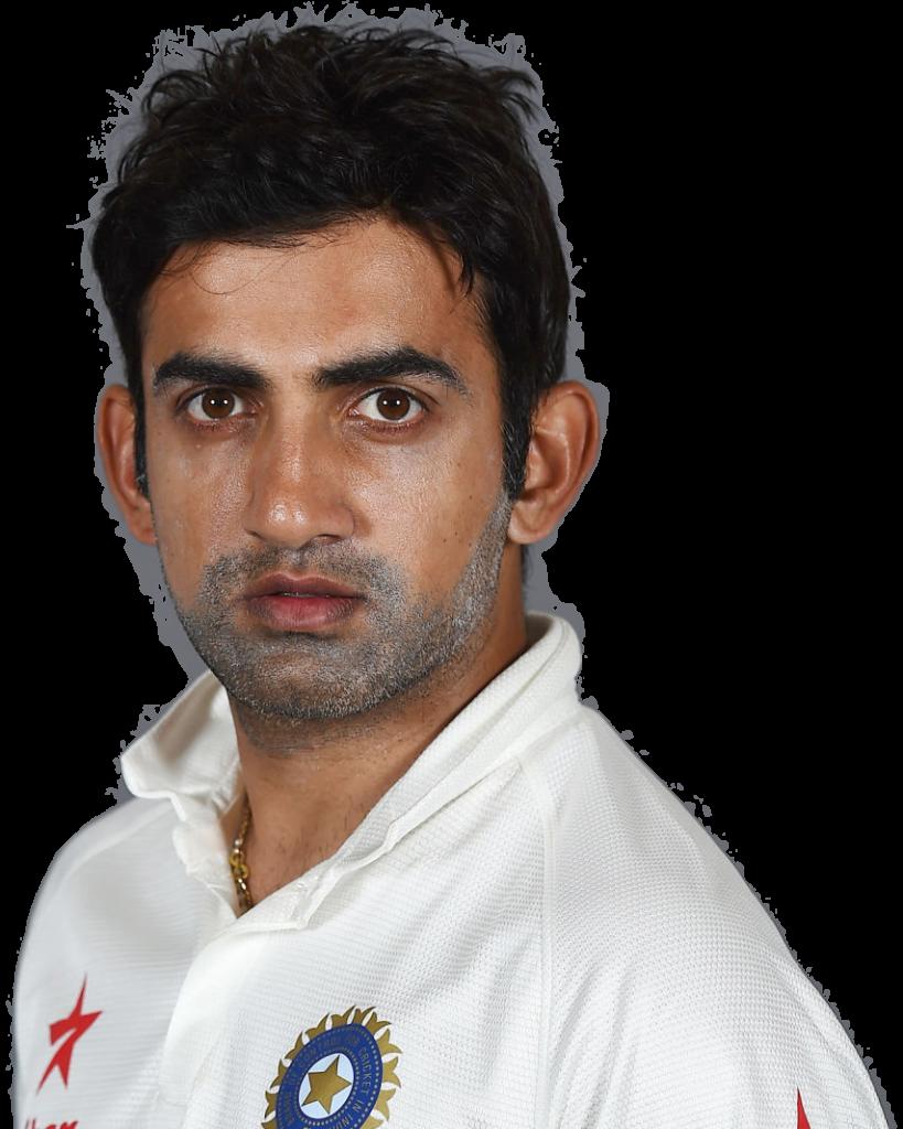 Gautam Gambhir transparent background png image