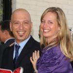 Howie Mandel with his girlfriend Terry Mandel