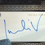 Indira Varma signature