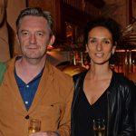 Indira Varma with husband Colin Tierney