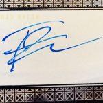 Iwan Rheon signature