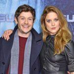 Iwan Rheon with girlfriend Zoë Grisedale image