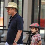 James Spader with his son Nathaneal Spader