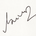 Javagal Srinath signature
