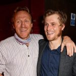 Jerome Flynn with his brother Johnny Flynn