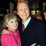Jerome Flynn with his mother Fern Flynn