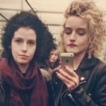 Julia Garner with her sister Anna Garner