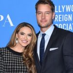 Justin Hartley with ex-wife Chrishell Stause
