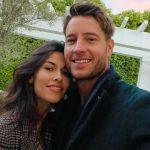 Justin Hartley with girlfriend Sofia Pernas