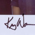 Kerry Washington signature