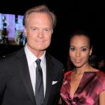 Kerry Washington with her ex-boyfriend Lawrence O'Donnell
