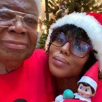 Kerry Washington with her father Earl Washington