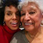 Kerry Washington with her mother Valerie Washington