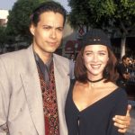 Lauren Holly with ex-husband Danny Quinn