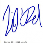 Lil Rel Howery signature