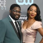 Lil Rel Howery with his ex-girlfriend Verina Howery