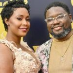 Lil Rel Howery with his ex-wife Verina Howery