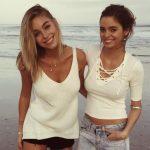 Liz Turner with her sister Sarah Turner