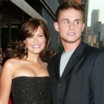 Mandy Moore with ex-boyfriend Andy Roddick