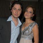 Mandy Moore with ex-boyfriend Zach Braff