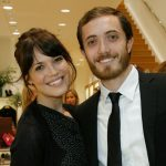 Mandy Moore with her brother Kyle Moore
