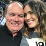 Mandy Moore with her father Don Moore