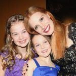 Megan Charpentier with her two sisters