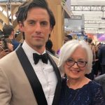 Milo Ventimiglia with his mother Carol Wilson