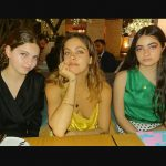 Mimi Elashiry with her sisters