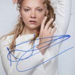 Natalie Dormer signature