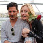 Nicholas Gonzalez with his wife Kelsey Crane
