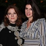 Rose Leslie with her sister Louisa Leslie