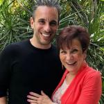 Sebastian Maniscalco with his mother Rose Maniscalco