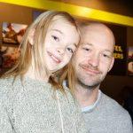 Shree Crooks with her father Greg Crooks