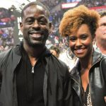 Sterling K Brown with wife Ryan Michelle Bathe