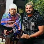 Suresh Raina with his father Tirlokchand Raina