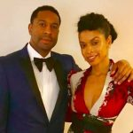 Susan Kelechi Watson with her brother Richard Judah Watson