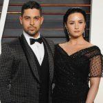 Wilmer Valderrama with ex-girlfriend Demi Lovato