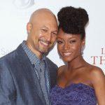 Yaya DaCosta with ex-husband Joshua Bee Alafia