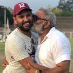 Yuvraj Singh with his father Yograj Singh