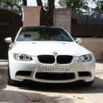 Yuvraj Singh's Bmw car