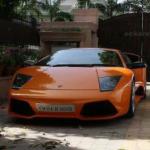 Yuvraj's Lamborghini car