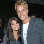 justin Hartley with ex-wife Lindsay Hartley