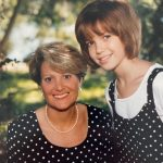 mandy Moore with her mother Stacy Moore